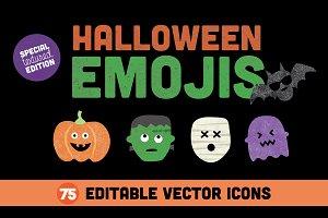 Halloween Emojis MegaPack