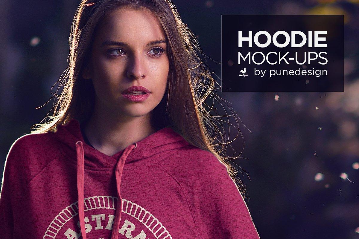 Hoodie mock up