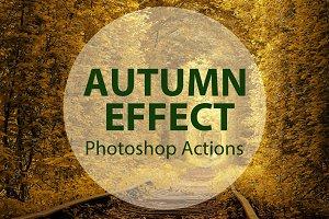 Autumn Effect Photoshop Action