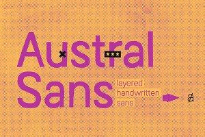 Austral Sans Complete Family