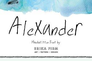 Alexander Handwritten Font