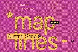 Austral Sans Maplines