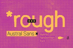 Austral Sans Rough