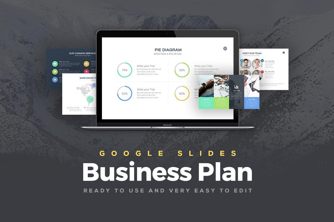 Business Plan Google Slides Template ~ Presentation Templates ...