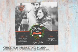 IC015 Christmas Marketing Board