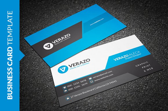 Creative corporate business card business card templates creative corporate business card business card templates creative market wajeb Choice Image
