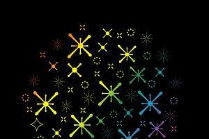 set of a magic sparkle