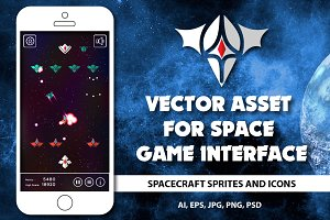 Asset for space game interface