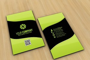Modern Corporate Business Card Vol 4