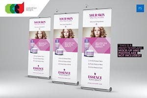 Beauty Care - Roll-Up Banner 2