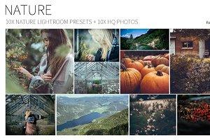 10 Nature Adobe LT Presets