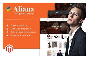 MGS Aliana - M2 multipurpose theme