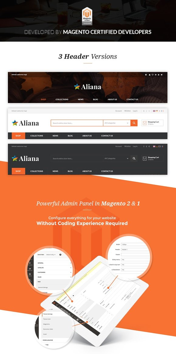 MGS Aliana - M2 multipurpose theme in Magento Themes - product preview 2