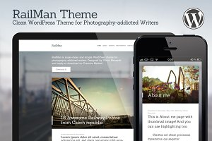 RailMan — WordPress Theme