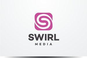 Swirl Media - Letter S Logo