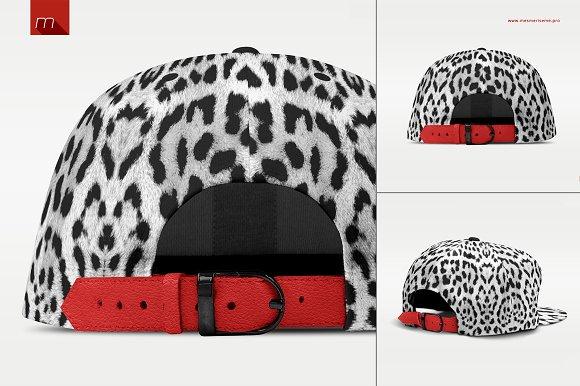 Snapback Cap Mock-up ~ Product Mockups ~ Creative Market 3c4e6a410645