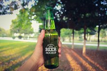 Beer Bottle Label Mock-up#15