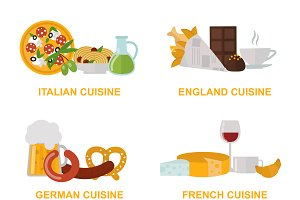 Cuisine lunch cooking vector