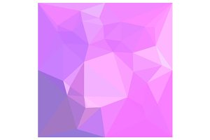 Medium Orchid Abstract Low Polygon