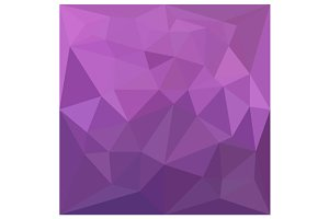 Plum Purple Abstract Low Polygon