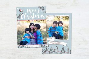 Christmas Card | Bird's Nest