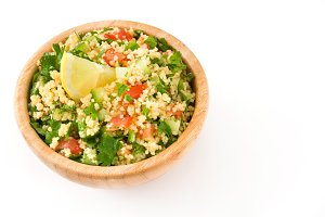 Tabbouleh salad with couscous