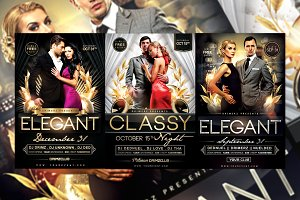 3 in 1 Elegant Flyer Bundle