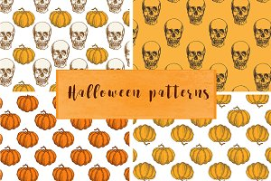 Vintage Halloween patterns