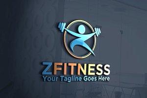 Fitness | Letter Z | logo Template