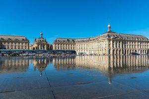 Place de la Bourse in Bordeaux