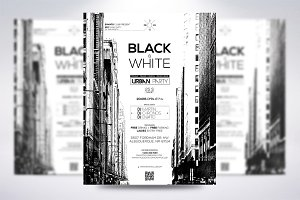 Black & White Urban Party