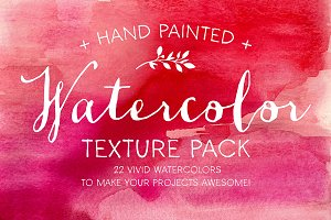 The Watercolor Texture Pack