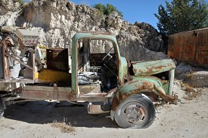 Rusty Vintage Vehicle