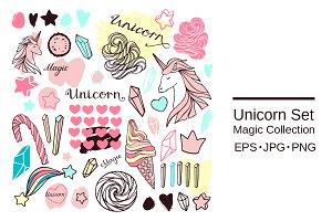 SALE! Unicorn Set