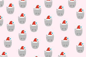Christmas Cat pattern