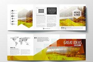 Trifold square brochure v.1