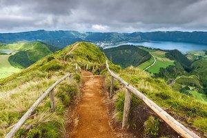 View of Sete Cidades, Azores