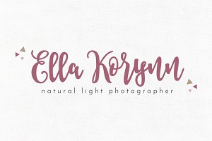 Ella Korynn Premade Logo Template