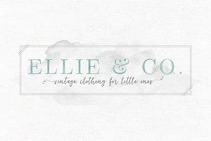 Ellie & Co Premade Logo Template