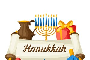 Hanukkah celebration cards.