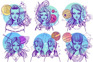 Girls Zodiac Signs