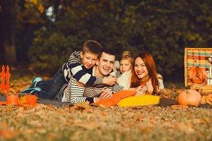 Happy Family Halloween