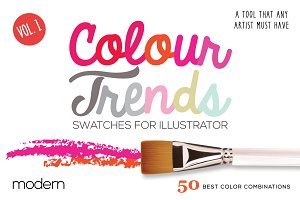 Colour Trends Modern Swatches Vol1
