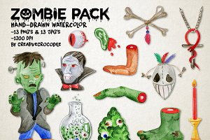 Zombie Pack for Halloween