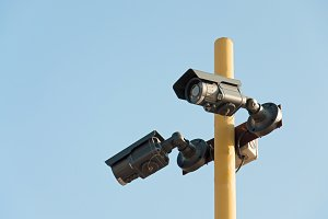 Two Security Camera