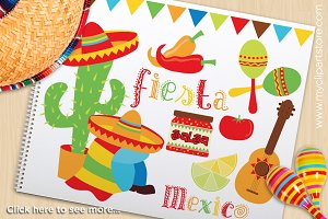Cinco De Mayo - Vector Clipart