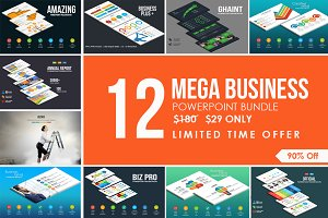 Mega Business Powerpoint Bundle