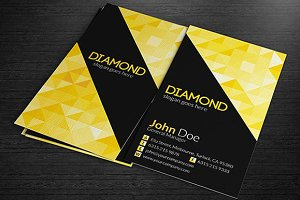 Multipurpose Business Cards - Diamon