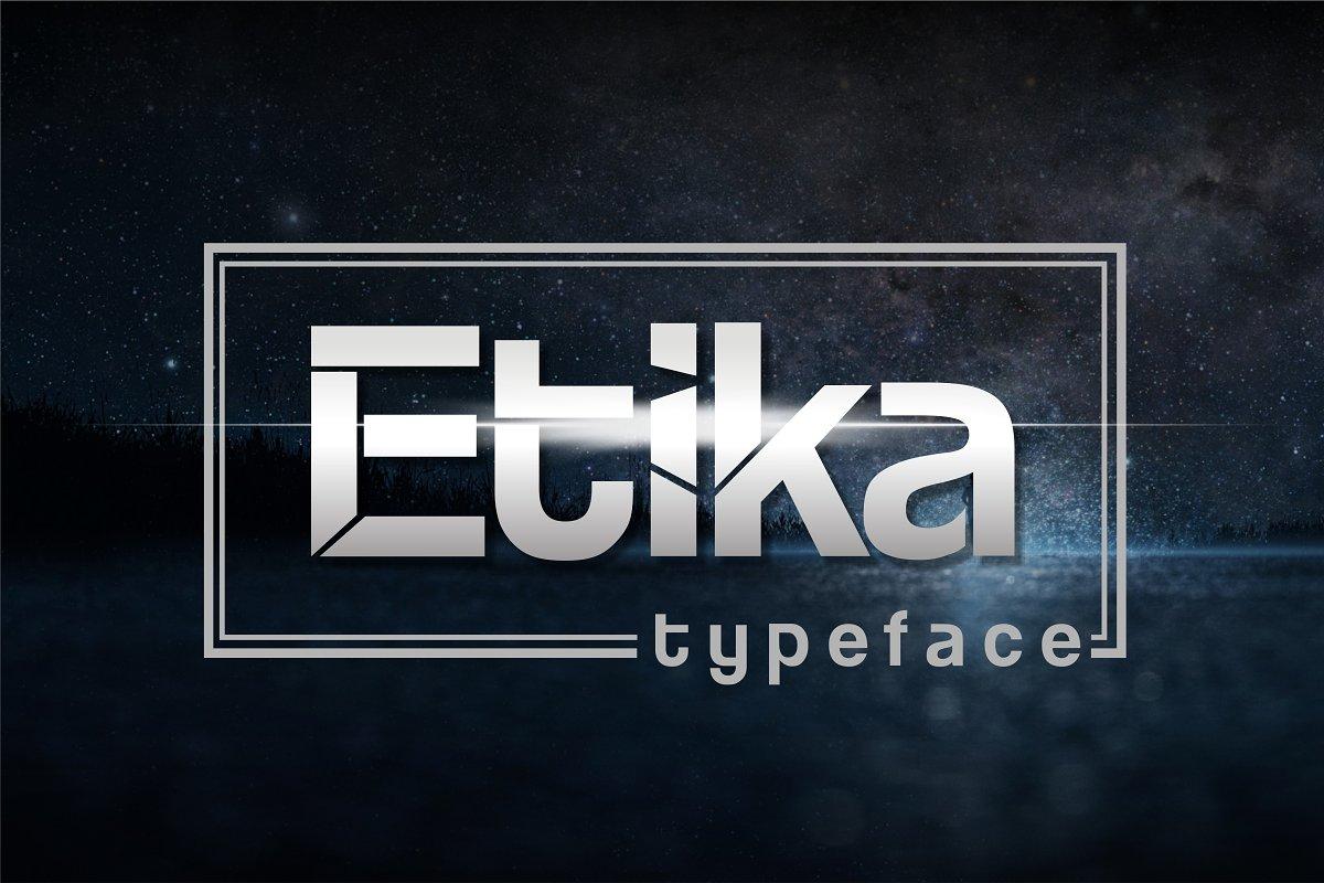 Etika ~ Sans Serif Fonts ~ Creative Market