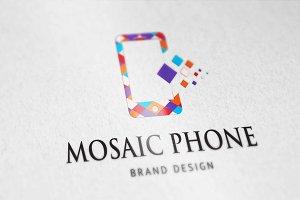 Mosaic Phone Logo
